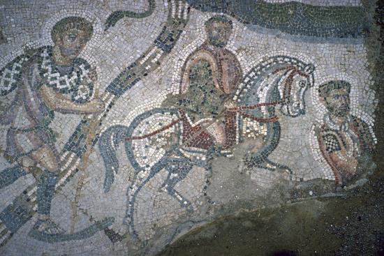 Roman mosaic from Bulla Regia, 2nd century BC-Unknown-Giclee Print