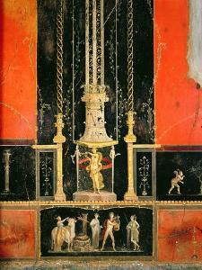 Mythological and Decorative Details from the East Wall in the Lover's Room, Casa Dei Vettii by Roman