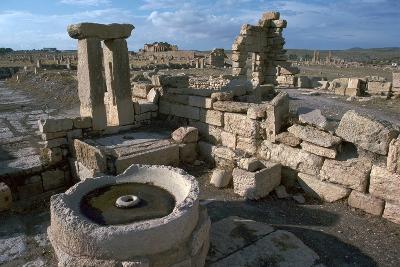 Roman Olive Presses in the City of Sufetula-CM Dixon-Photographic Print