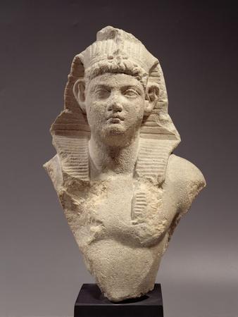 Bust of a Roman Emperor as a Pharaoh