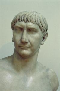 Portrait of Emperor Trajan by Roman