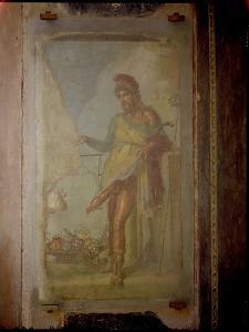 Priapus, from the Casa Dei Vettii by Roman