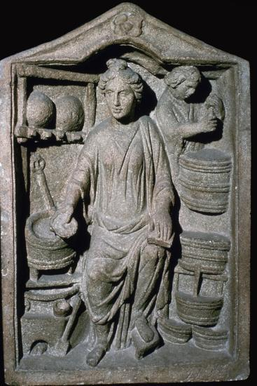 Roman relief of a Pharmacy Shop-Unknown-Giclee Print
