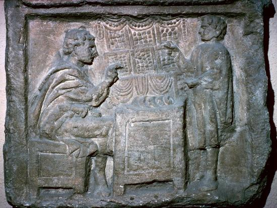 Roman relief of an Apothecary Shop-Unknown-Giclee Print