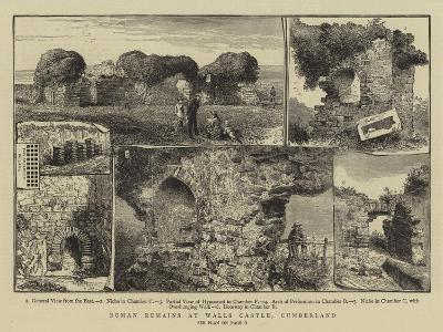 Roman Remains at Walls Castle, Cumberland--Giclee Print