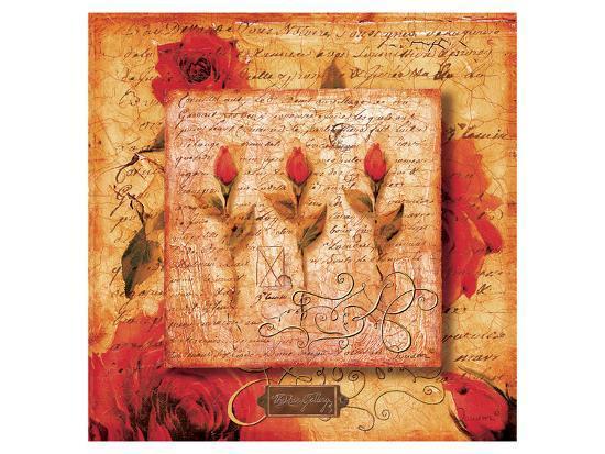 Roman Rose Gallery-Fiona-Joadoor-Art Print