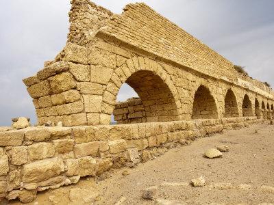 Roman Ruins in Caesarea, Israel, Middle East-Michael DeFreitas-Photographic Print