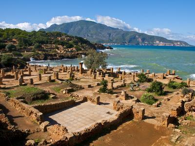 Roman Ruins of Tipasa, on the Algerian Coast, Algeria, North Africa, Africa-Michael Runkel-Photographic Print