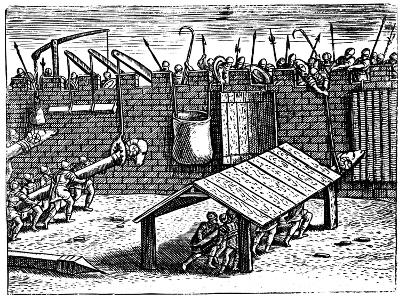 Roman Siege Warfare, 1605--Giclee Print