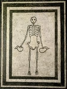 Skeleton of a Cupbearer by Roman