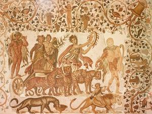 The Triumph of Dionysus by Roman