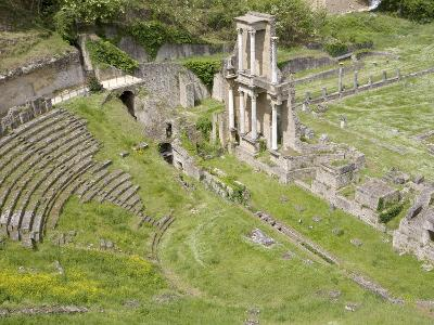 Roman Theater, Volterra, Tuscany, Italy, Europe--Photographic Print