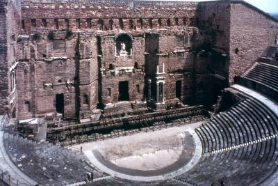 Roman Theatre at Orange, France--Photographic Print