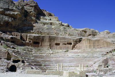 Roman Theatre, Petra, Jordan-Vivienne Sharp-Photographic Print