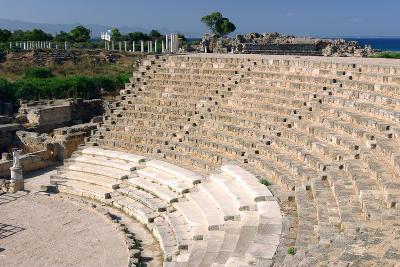 Roman Theatre, Salamis, North Cyprus-Peter Thompson-Photographic Print