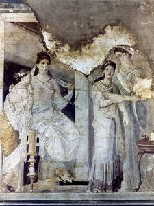 Roman Toilette Scene
