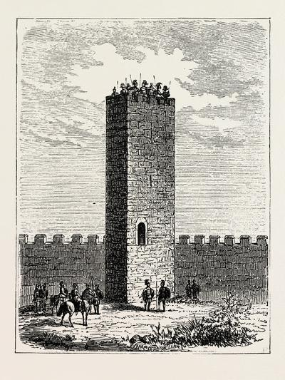 Roman Watch-Tower--Giclee Print