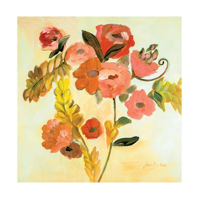 Romance Bouquet-Joan E Davis-Art Print