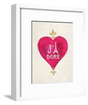 Romance Collection J'Adore-Miyo Amori-Framed Premium Giclee Print