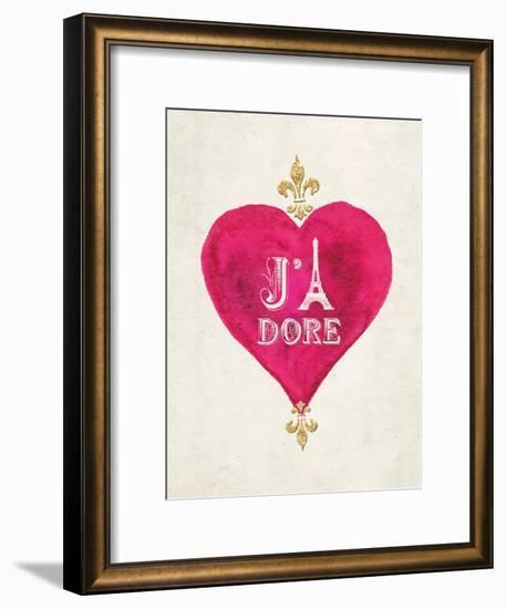 Romance Collection J'Adore-Miyo Amori-Framed Art Print