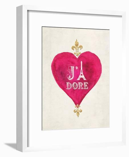 Romance Collection J'Adore-Miyo Amori-Framed Art Print