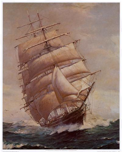 Romance of Sail-Frank Vining Smith-Art Print