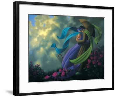 Romance-Claude Theberge-Framed Art Print