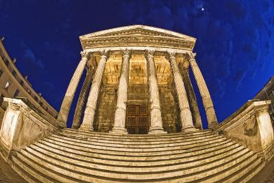 Romanesque Temple; Maison Caree, Nimes, France-Design Pics Inc-Photographic Print