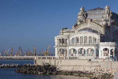 Romania, Black Sea Coast, Constanta, Constanta Casino Building-Walter Bibikow-Photographic Print