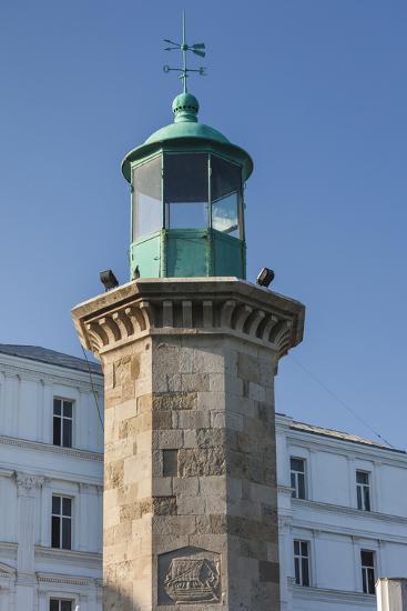 Romania, Black Sea Coast, Constanta, Genovese Lighthouse-Walter Bibikow-Photographic Print