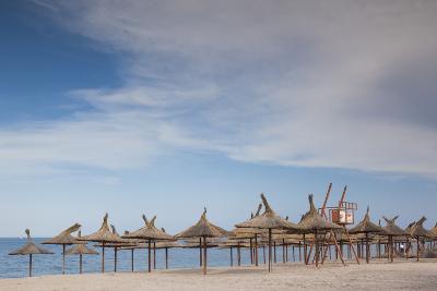 Romania, Black Sea Coast, Vama Veche, Beach View-Walter Bibikow-Photographic Print
