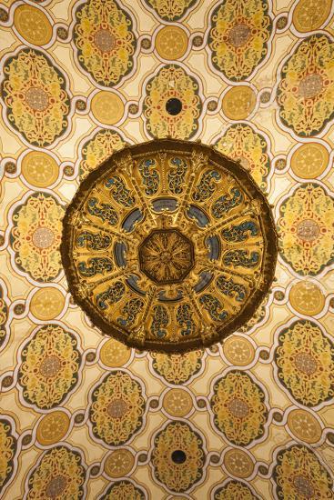 Romania, Bucharest, Grand Synagogue, Interior-Walter Bibikow-Photographic Print