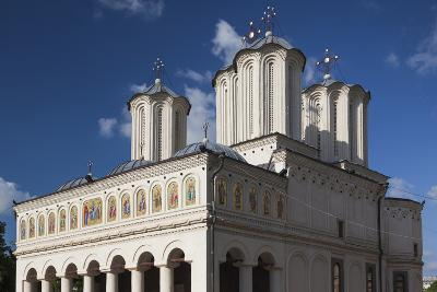 Romania, Bucharest, Romanian Patriarchal Cathedral, Exterior-Walter Bibikow-Photographic Print