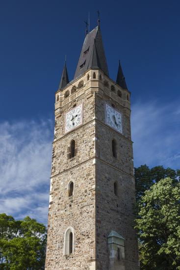 Romania, Maramures Region, Baia Mare, St. Stephan's Tower-Walter Bibikow-Photographic Print