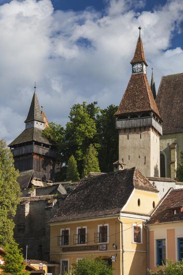Romania, Transylvania, Biertan, 15th Century Fortified Saxon Church-Walter Bibikow-Photographic Print