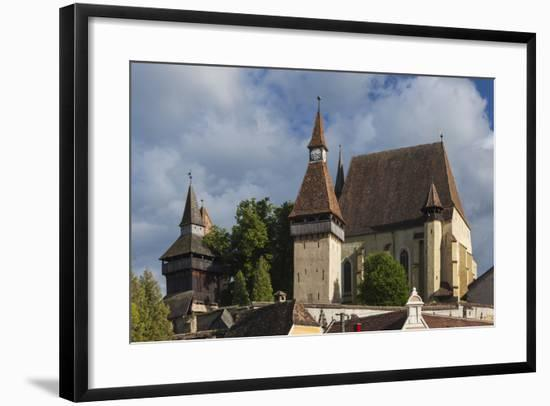 Romania, Transylvania, Biertan, 15th Century Fortified Saxon Church-Walter Bibikow-Framed Photographic Print