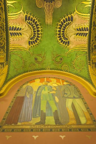 Romania, Transylvania, Targu Mures, Culture Palace Building-Walter Bibikow-Photographic Print