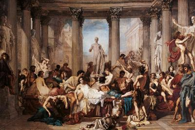 Romans of the Decadence-Thomas Couture-Art Print