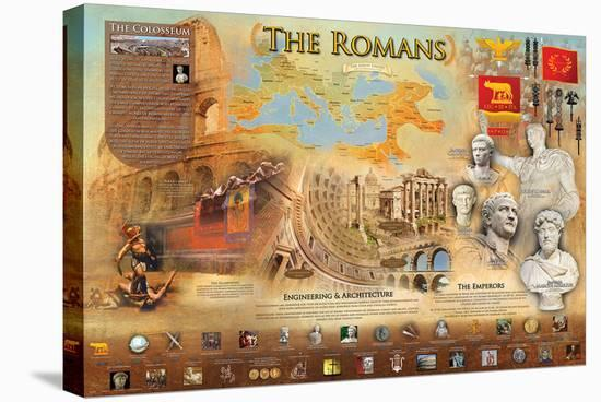 Romans--Stretched Canvas Print