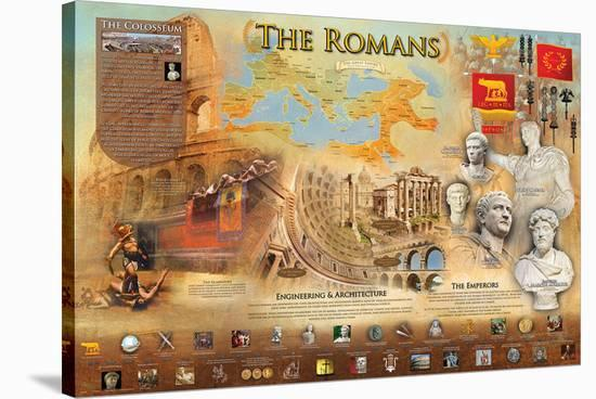 Romans--Stretched Canvas Print