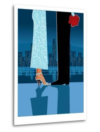 Romantic Couple in City