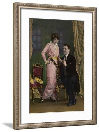Romantic Couple--Framed Photographic Print
