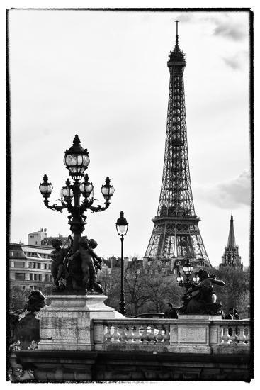 Romantic Eiffel Tower Paris Photographic Print Philippe Hugonnard Art Com