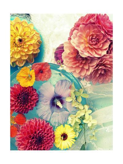 Romantic Flowers I-Alaya Gadeh-Art Print