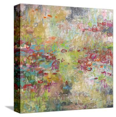 Romantic Garden-Amy Donaldson-Stretched Canvas Print