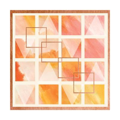 Romantic Geometrics II-A Fresh Bunch-Art Print