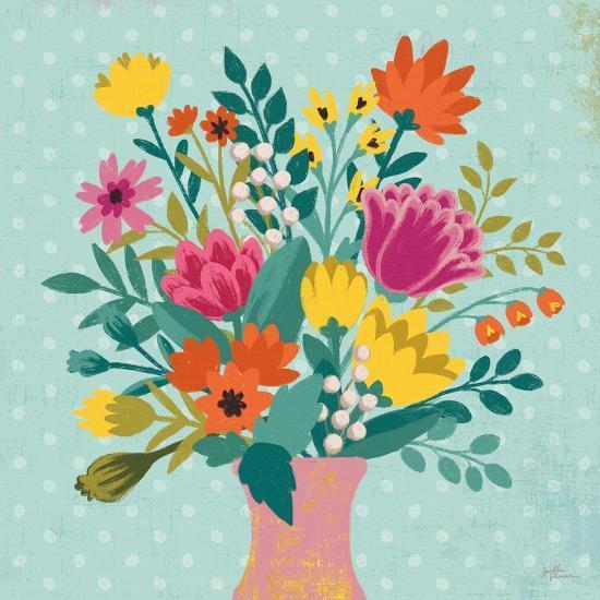 Romantic Luxe XV-Janelle Penner-Art Print