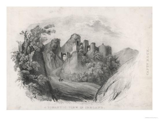 Romantic View in Ireland--Giclee Print