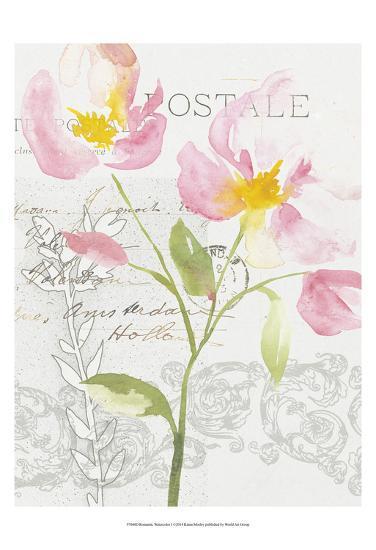 Romantic Watercolor I-Kiana Mosley-Art Print