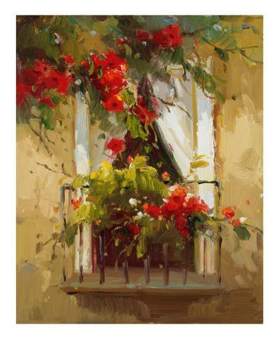 Romantic Window I-Calvin Stephens-Art Print